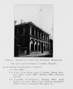 American Consulate General and US Court for China, Shanghai 1907.png