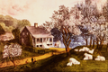 American Homestead Spring - Currier and Ives.png