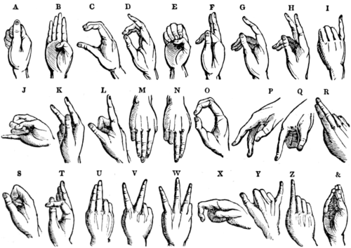 American Pocket Library of Useful Knowledge - Alphabet for the Deaf and Dumb.png