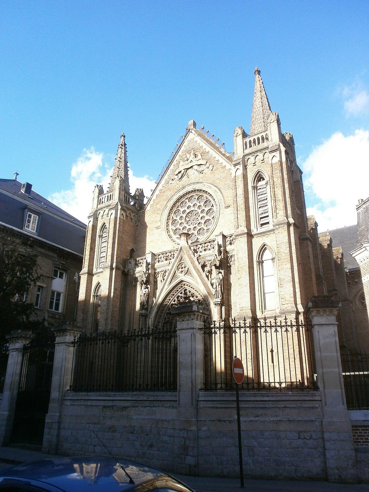Chapelle du lyc e du sacr c ur d 39 amiens wikip dia - Architecte d interieur amiens ...