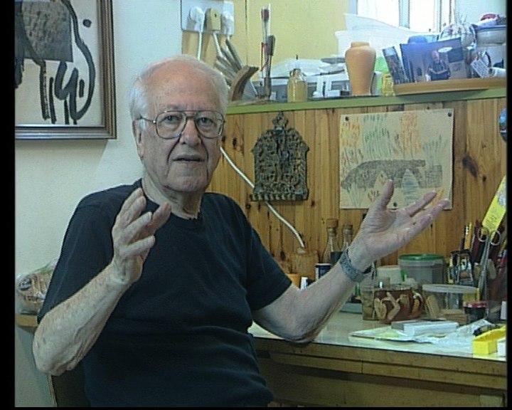אמנון שמוש בביתו, ספטמבר 2009