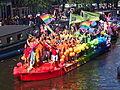 Amsterdam Gay Pride 2013 De Kringen boat pic2.JPG