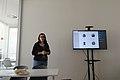 Ana Cravo in the Wikidata Days 2019.jpg