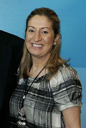 Español: Ana Pastor en la Conferencia Política...