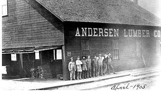 Andersen Corporation - Andersen Lumber 1903