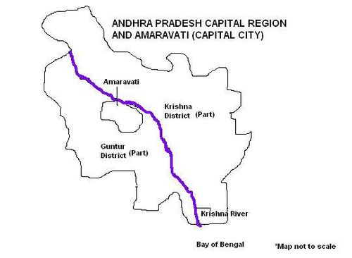Andhra pradesh capital region wikiwand andhra pradesh capital region malvernweather Choice Image
