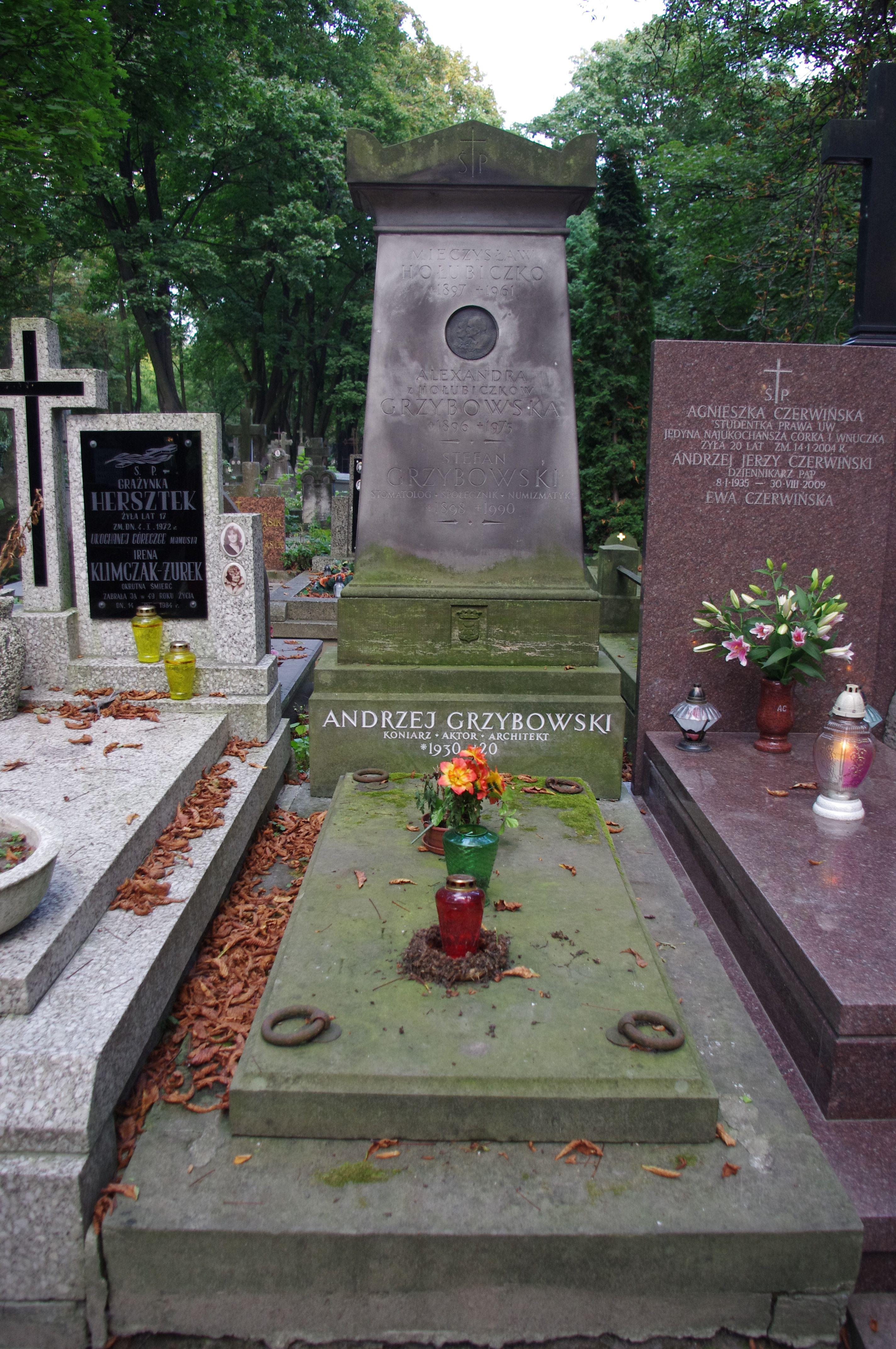 File:Andrzej Grzybowski aktor grób.JPG  Wikimedia Commons