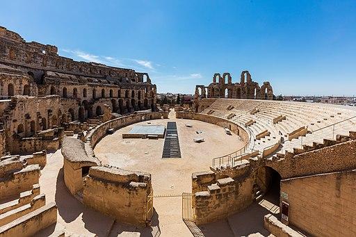 Anfiteatro, El Jem, Túnez, 2016-09-04, DD 22