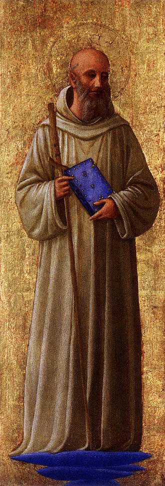 Romuald - San Romualdo, from the San Marco altarpiece by Fra Angelico (Minneapolis Institute of Arts)