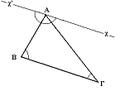 Angles of triangle add up to 180 degrees.png