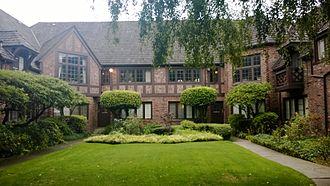 Fred Anhalt - An Anhalt apartment courtyard.