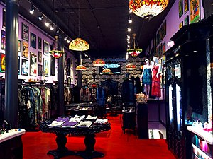 Anna Sui - The original flagship Anna Sui store at 113 Greene Street, New York City.