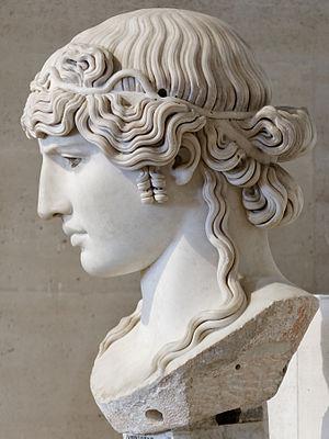 Antinous Mondragone - Image: Antinous Mondragone Louvre Ma 1205 n 3