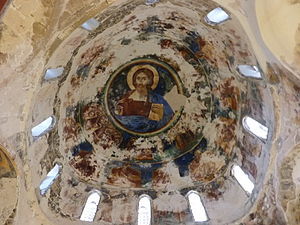 Antiphonitis - Church of Christ Antiphonitis, interior of the dome.