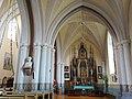 Anykščių bažnyčia, Baranausko biustas.JPG