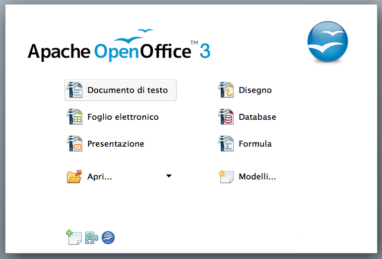 File:Apache Open Office 3.4.0 Chooser in Italian.tiff