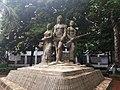 Aparajeyo Bangla statue 1.jpg