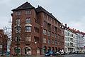 Apartment house Vossstrasse 1 Isernhagener Strasse Vahrenwald Hannover Germany.jpg