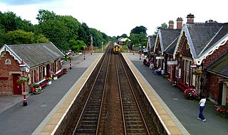 Appleby railway station Railway station in Cumbria, England