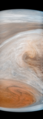 Approaching the Great Red Spot - Juno (35081292423).png
