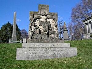 Arabella Huntington - The monument of Arabella Huntington in Woodlawn Cemetery, Bronx, NY