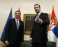 Arbeitsbesuch von Außenminister Spindelegger in Serbien (8231439183).jpg