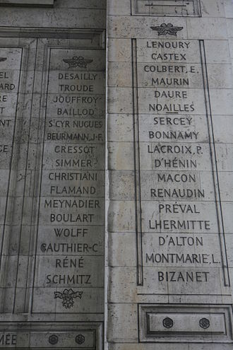 Antoine Maurin - Maurin is the fourth name on Column 40