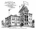 Architect's drawing of the Victoria Brewing Company building, Victoria, British Columbia, between 1894 and 1904 (AL+CA 797).jpg