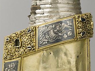 Niello - Niello panels on a reliquary, Mosan, c. 1230