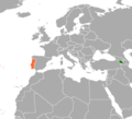 Armenia Portugal Locator.png
