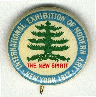 Armory Show - Armory show button, 1913