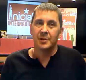 Arnaldo Otegi entrevistado en Kaosenlared.net