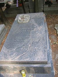 Arnold Szyfman monument.JPG