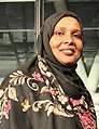 Asha Lul Mohamud Yusuf London City Hall October 2018.jpg