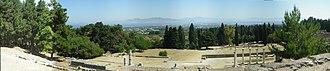 Asclepeion - Image: Asklepieion panoramic view