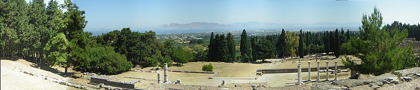 Asklepieion panoramic view