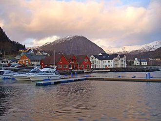 Askvoll (village) - View of the village
