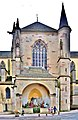 Aspect extérieur du transept nord de l'église Notre-Dame de Remiremont.jpg