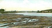 At the Boom, Penobscot River, Bangor, ME