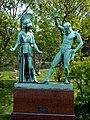 Athena and Marsyas (Botanisk Have).jpg