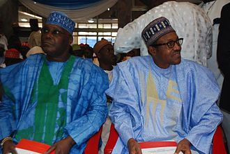 Atiku Abubakar - Atiku with Muhammadu Buhari.
