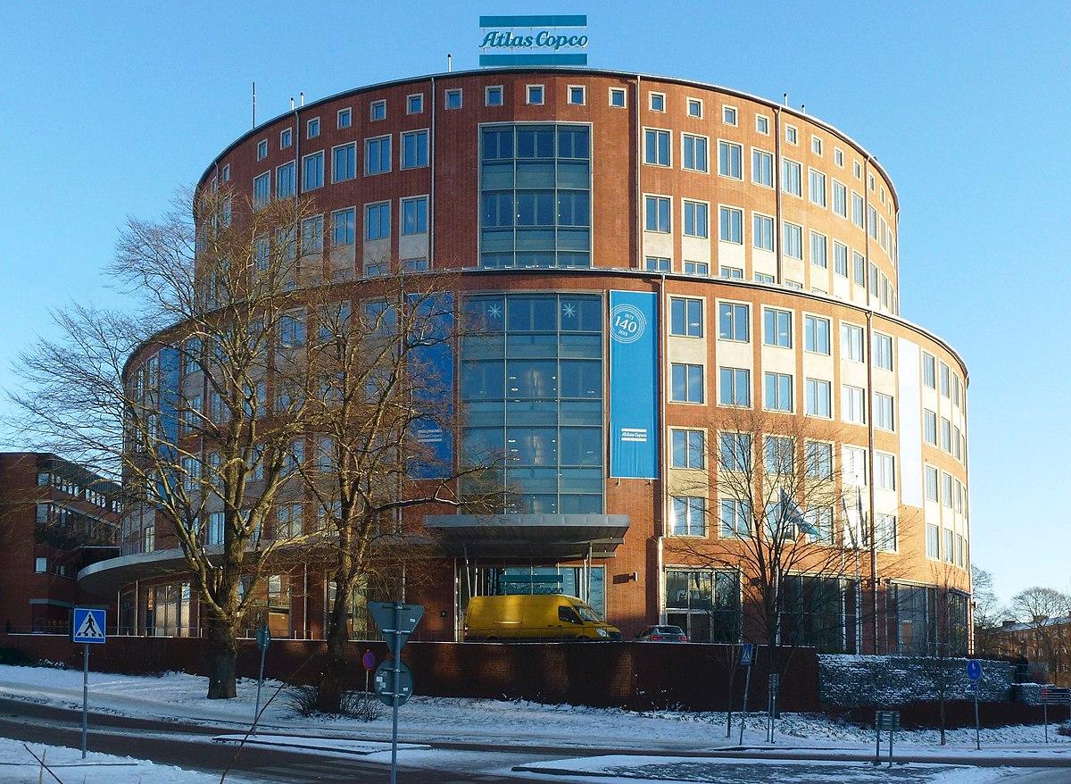 Atlas copco saljer till bank