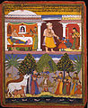 Attributed to Manohar - Scenes from the Childhood Krishna, from a Sur Sagar Manuscript - Google Art Project.jpg