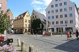 Metzgplatz in Augsburg