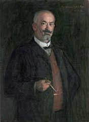 Portrait of the Industrialist August Keirkner