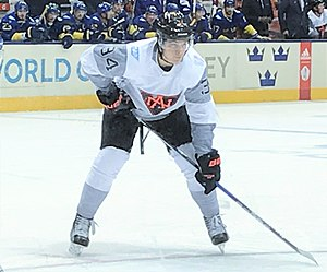 Auston Matthews - Matthews with North America at the 2016 World Cup of Hockey.