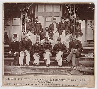 History of Test cricket from 1877 to 1883 - The 1882 Australian cricket team