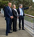 Australian Ministers Smith and Carr and Secretary Clinton View the City of Perth (8185310561) (cropped).jpg