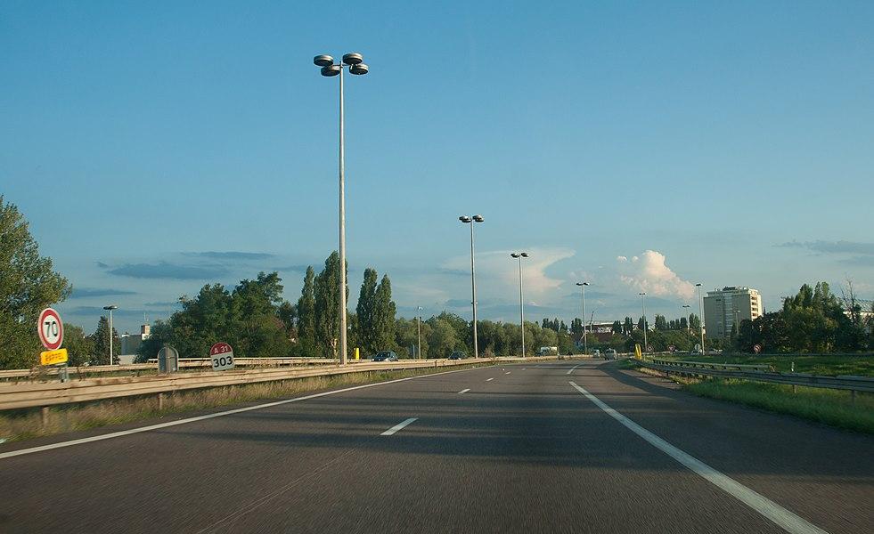 Autoroute A31 (France) - nord de Metz