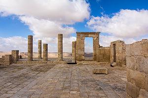 Nabataean Kingdom - Image: Avdat 260914 04